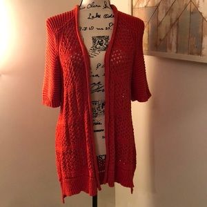Guinevere Anthro open tunic sweater!